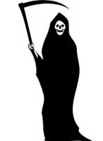 Happy Halloween Grim Reaper