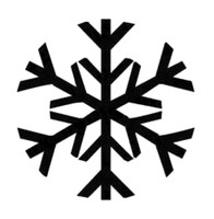 Snowflake Decal #4