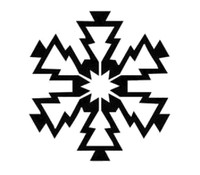 Snowflake Decal #3