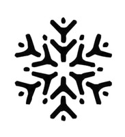 Snowflake Decal #1