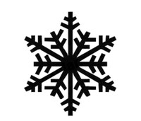 Snowflake Decal #2