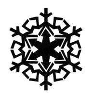 Snowflake Decal