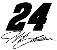Jeff Gordon Racing Decal