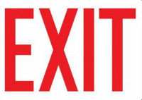 Exit Sign 1