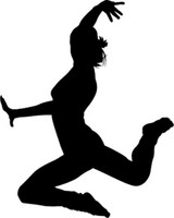 Leaping Shadow Dancers Decal