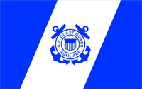 US Coast Guard Auxiliary Flag