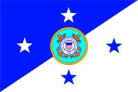 US Coast Guard Commandant Flag