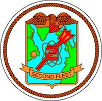 US Navy 2nd Fleet Emblem