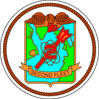 US Navy 2nd Fleet Emblem