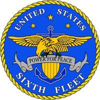 US Navy 6th Fleet Emblem