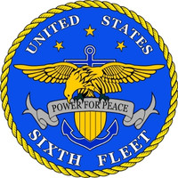 US Navy 6th Fleet Emblem
