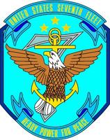 US Navy 7th Fleet Emblem