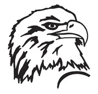 U.S.A. Bald Eagle Head Decal