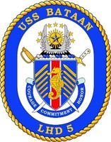 US Navy USS Bataan LHD 5