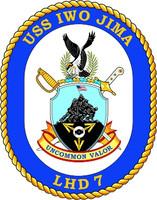 US Navy USS Iwo Jima LHD 7