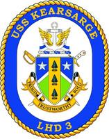 US Navy USS Kearsarge LHD 3