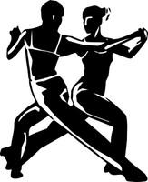 Man & Woman Tango Decal