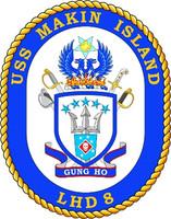 US Navy USS Makin Island LHD 8