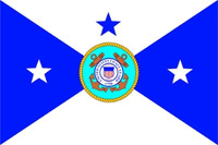 US Coast Guard Vice Commandant Flag
