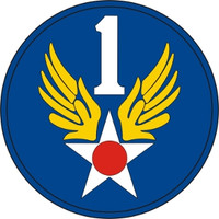 USAF 1st Air Force Emblem