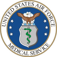 USAF Air Force Medical Service Seal Sticker