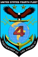US Navy 4th Fleet Emblem