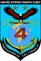 US Navy 4th Fleet Emblem