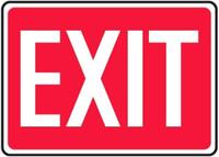 Exit Aluminum Sign 1