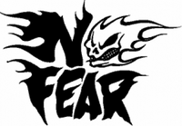 "No Fear ""Skull"" Decal"