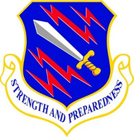 USAF Air Force 21st Space Wing Shield