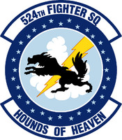 USAF Air Force 524th Fighter Squadron