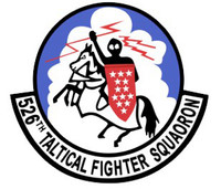 USAF Air Force 526th Tactical Fighter Squadron