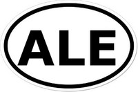 ALE Oval Bumper Sticker