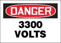 Danger 3300 Volts