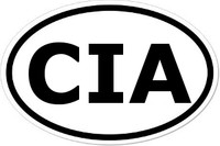 CIA Oval Bumper Sticker