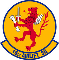 USAF 16th Airlift Squadron