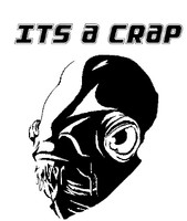 It's A Crap! Toilet Lid Decal