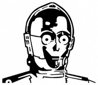 C3PO Decal
