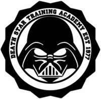 Death Star Training Academy Decal