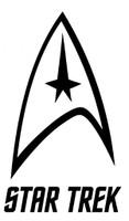 Star Trek Logo Decal