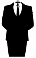 Anonymous Suit Meme Decal