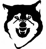 Courage Wolf Meme Decal