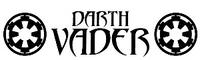 Darth Vader Emblem Decal