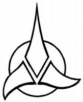Star Trek Klingon Emblem Decal