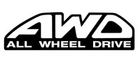 All Wheel Drive Decal