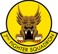 USAF 7th Fighter Squadron