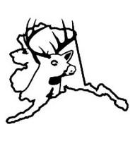 Alaska State Deer Decal