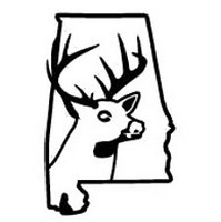 Alabama State Deer Decal