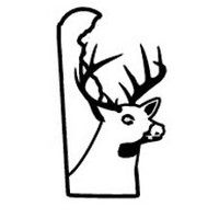Delaware State Deer Decal