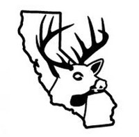 California State Deer Decal